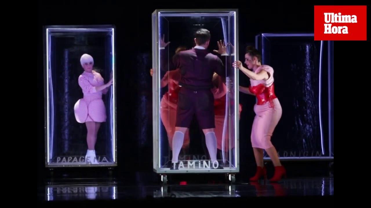 El Teatre Principal se viste para la ópera con 'La flauta mágica'