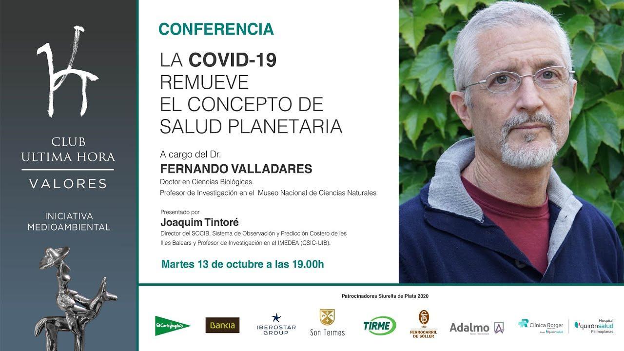 Así ha sido la conferencia de Fernando Valladares sobre el coronavirus
