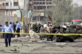 Al menos 30 muertos y 224 heridos en una cadena de atentados suicidas en Bagdad