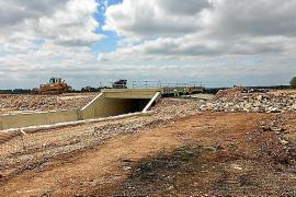 Las obras de la autopista de Llucmajor a Campos enfilan su recta final
