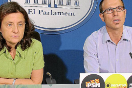 El PSM-IV insta al Govern a pedir el rescate antes de que se agote el dinero