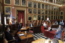 El debate del estado de la ciudad de Palma concluye con la aprobación del 62% de las propuestas presentadas
