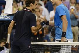 Berdych elimina a Federer y jugará las semifinales con Murray