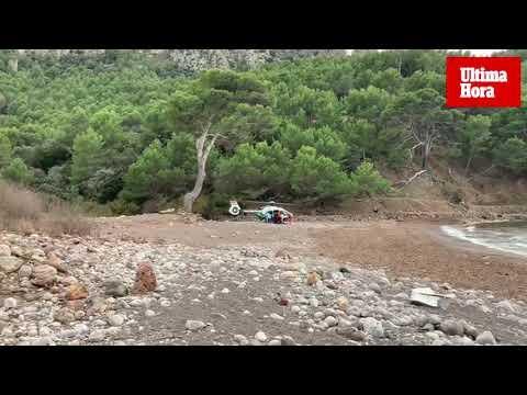 Un hombre herido grave tras volcar con un quad en Cala Tuent