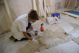 El pasado medieval de Palma resurge en una sala de Can Balaguer