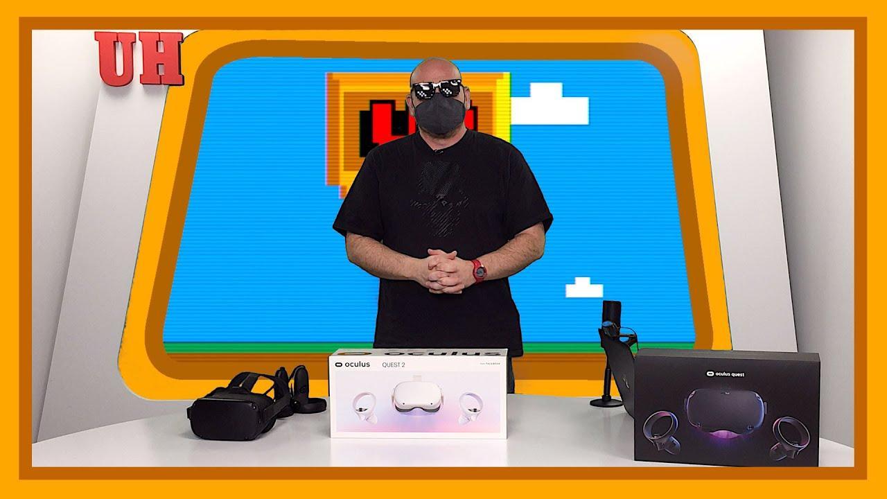 Oculus Quest 2, 'unboxing' y primer contacto