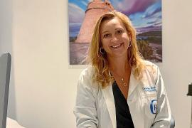 La doctora Gabriela Sicco, especialista en Ginecología y Obstetricia del Grupo Policlínica