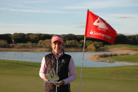 La mallorquina Luna Sobrón gana el Santander Golf Tour LETAS Burgos