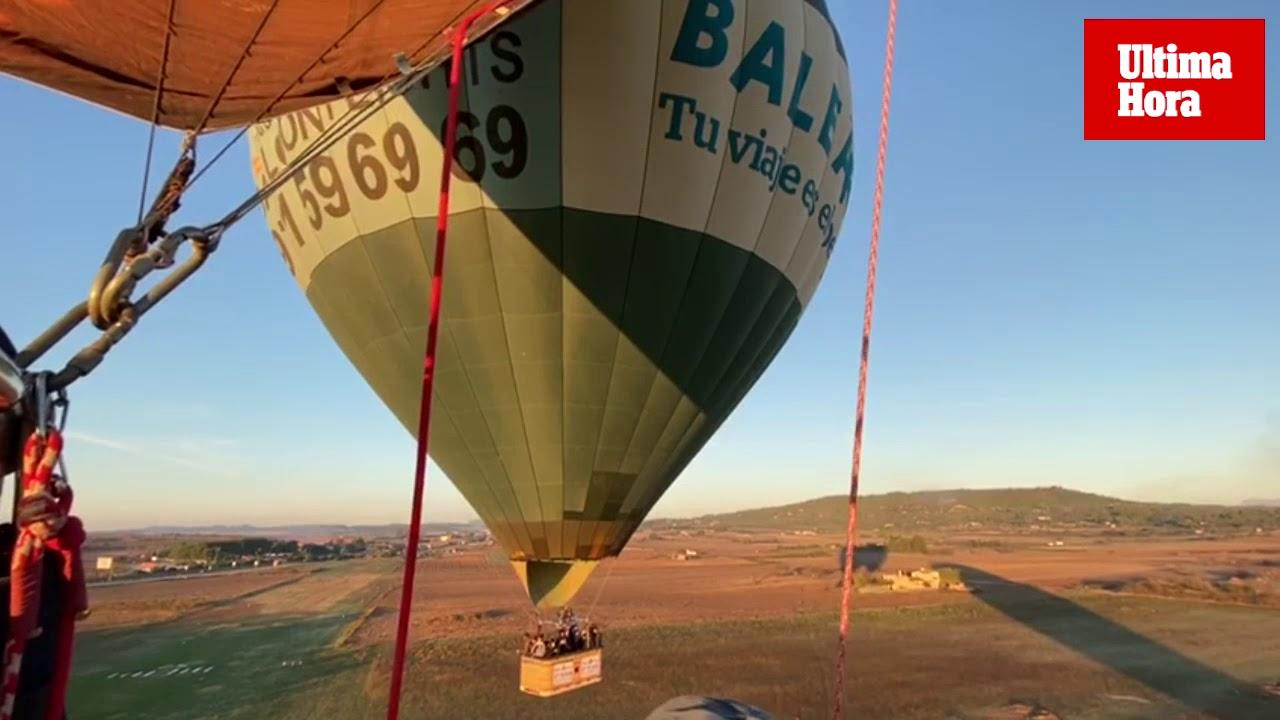 Niños de Aspanob viven la experiencia de volar en globo