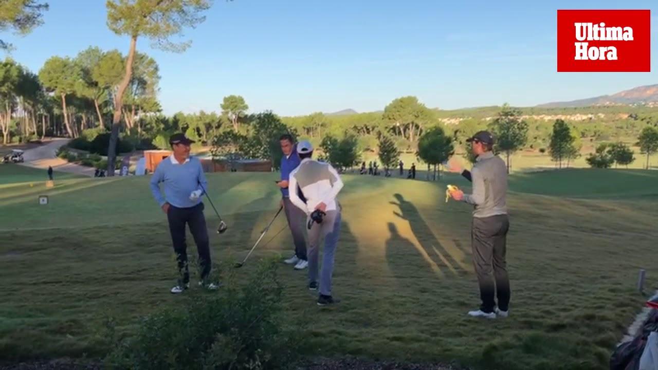 Nadal vuelve al golf tras su decimotercer Roland Garros