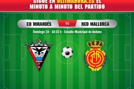 DIRECTO | CD Mirandés-Real Mallorca