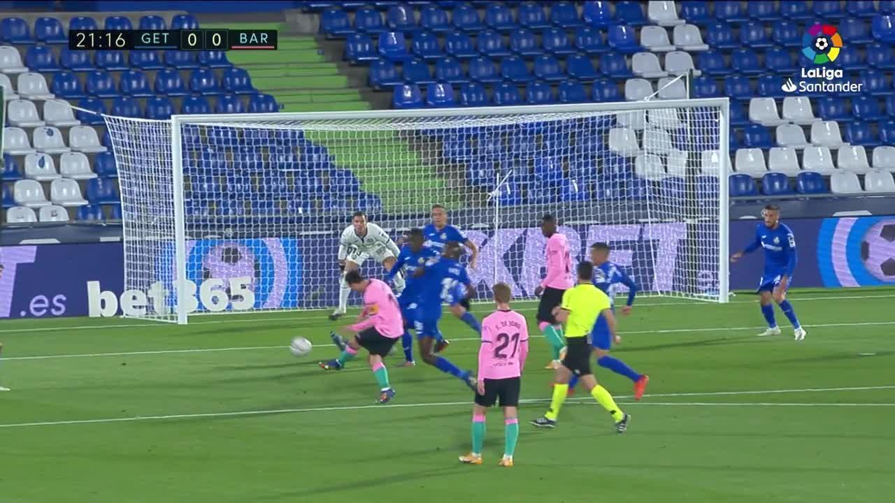 El Barça cae en la telaraña del Getafe