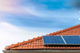 Los tejados, fuentes de luz solar
