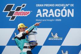 Masiá vuelve a lo más alto del podio de Moto3