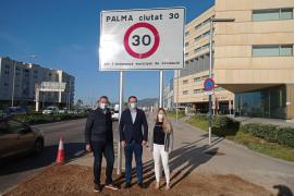 Conducir en Palma, a 30 kilómetros por hora desde el miércoles