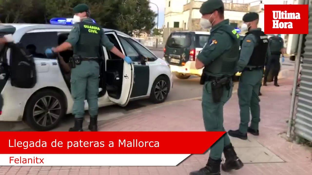 Detenidos este lunes en Baleares un total de 72 migrantes irregulares