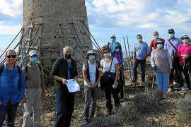 Piden la rehabilitación urgente de la torre de Cala Figuera