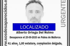 Localizan en Palma a un hombre desaparecido desde finales de septiembre