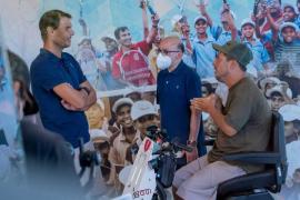 El Langui descubre en Mallorca la faceta más solidaria de Nadal