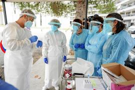 Un momento de la formación llevada a cabo ayer en el Centro de Salud de Vila
