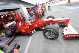 Alonso: «Algo se ha roto, creo que hubiésemos hecho la 'pole' fácilmente»