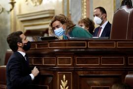 Casado anuncia que el PP votará 'no' a la moción contra Sánchez