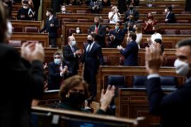 El Congreso rechaza la moción de censura de Vox al lograr solo 52 síes