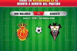 Real Mallorca-Albacete, en directo