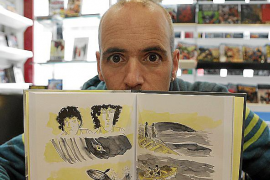 Javier de Isusi se alza con un Premio Nacional de Cómic con pasado mallorquín