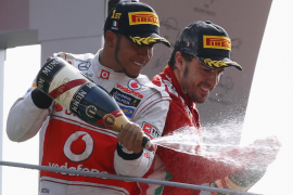 Alonso: «Ha sido un domingo casi perfecto»
