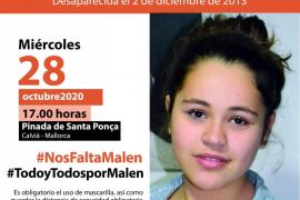 Convocan una concentración en recuerdo de Malén Ortiz en su 22 cumpleaños