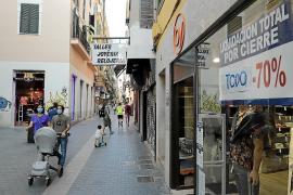 Franquicias y cadenas aprovechan los cierres para alquilar locales céntricos de Palma