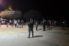 Fiesta ilegal en Petra