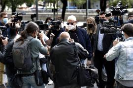 Josep Maria Mainat y su esposa, ante el juez por el intento de asesinato