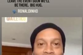 Ronaldinho, positivo en coronavirus