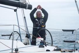 Eduardo Horrach fija un nuevo récord de la vuelta a Mallorca a vela en solitario