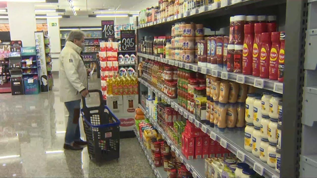 Los precios de los supermercados suben un 2,8 %