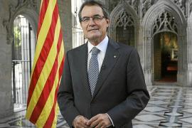 Artur Mas se suma a la llamada independentista de la Diada catalana