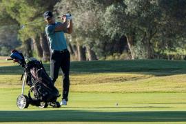 Sebastián García, vencedor del Campeonato Profesional de Golf de Baleares, y Nadal, sexto