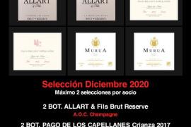 Selección lotes de Navidad y Club del Vino