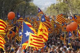 Millón y medio de personas piden en Barcelona la independencia de Cataluña