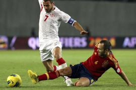 Un gol de Soldado da la victoria a España (0-1)