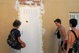 Desvalijan de madrugada el material deportivo del Club de Fútbol Santa Ponça