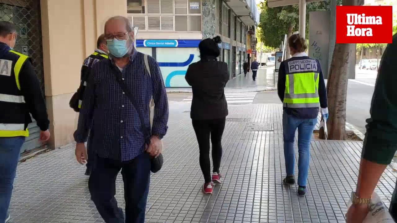 Cuatro detenidos por explotación sexual en un piso de Palma