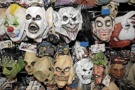 Halloween con máscara