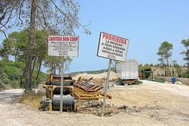 La 'ley Company' acelera la construcción de la planta asfáltica de Son Corb en Sineu