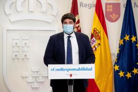 Murcia decreta el cierre perimetral de la región y de sus 45 municipios