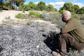 Levantan acta por abandono de residuos peligrosos en el Cap de Cala Figuera