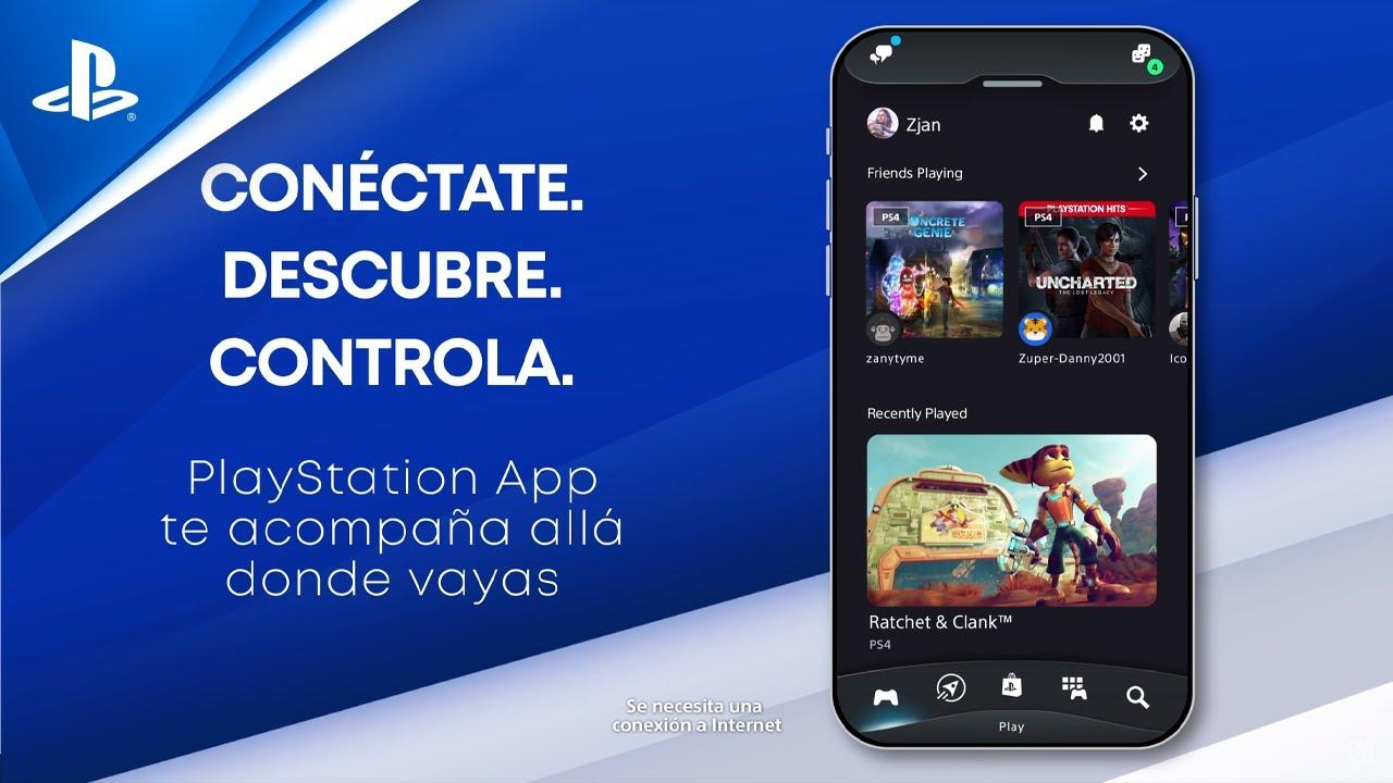 La App de PlayStation se actualiza para PlayStation 5