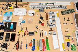 Desarticulada una banda en Palma dedicada a manipular cajeros automáticos